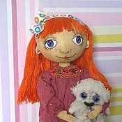 Куклы и игрушки ручной работы. Ярмарка Мастеров - ручная работа Игровая текстильная кукла для Евгении. Handmade.