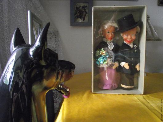 Винтажные сувениры. Ярмарка Мастеров - ручная работа. Купить Новобрачны Куклы Мозельское вино урожая 1970 г. Handmade.