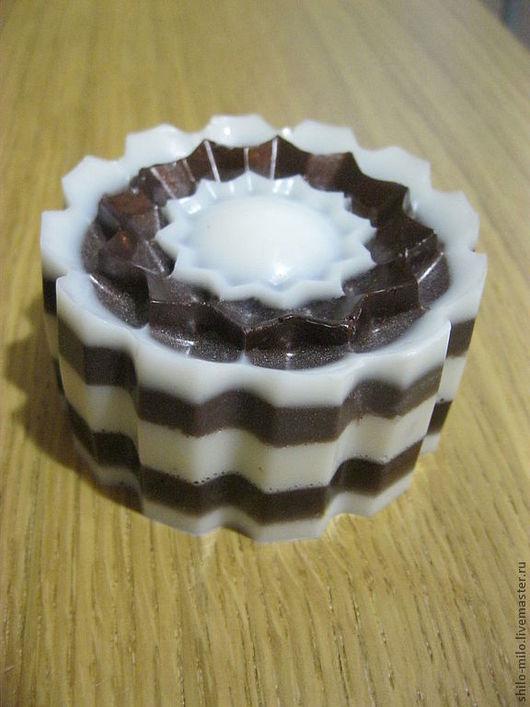 Мыло ручной работы. Ярмарка Мастеров - ручная работа. Купить Шоколадный кекс. Handmade. Мыло ручной работы, мыло сувенирное