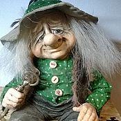 Куклы и игрушки ручной работы. Ярмарка Мастеров - ручная работа авторская кукла ДОМОВИЧОК в горошек. Handmade.