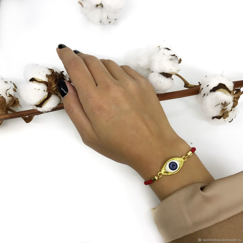 Bracelet against the evil eye, Bead bracelet, Moscow,  Фото №1