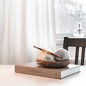 Материалы для творчества handmade. Livemaster - original item 6mm Cedar Wood Knitting Hook. K300. Handmade.