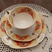 Винтаж ручной работы. Ярмарка Мастеров - ручная работа Чудесная чайная тройка, Германия. Handmade.