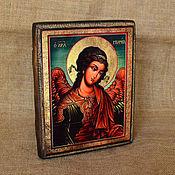 Картины и панно handmade. Livemaster - original item Icon Of The Archangel Michael. Handmade.