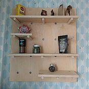 Кухни ручной работы. Ярмарка Мастеров - ручная работа Модульная полка на кухню. Handmade.