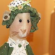 Куклы и игрушки ручной работы. Ярмарка Мастеров - ручная работа Мышь Анфиса Елизаровна. Handmade.