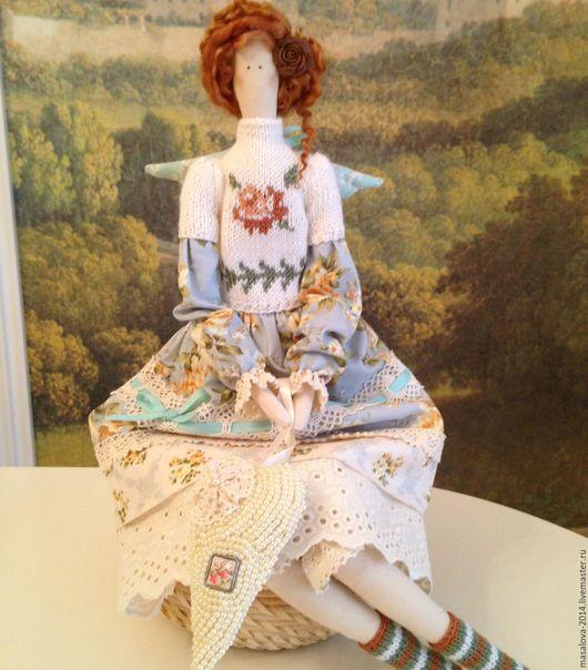 """Куклы Тильды ручной работы. Ярмарка Мастеров - ручная работа. Купить -30% Скидка """"Розета"""" кукла ручной работы """" Тильда"""". Handmade."""