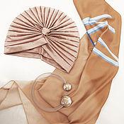 Аксессуары handmade. Livemaster - original item Turban - turban gold dust. Handmade.