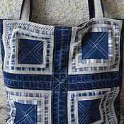 Сумки и аксессуары ручной работы. Ярмарка Мастеров - ручная работа сумка джинсовая. Handmade.