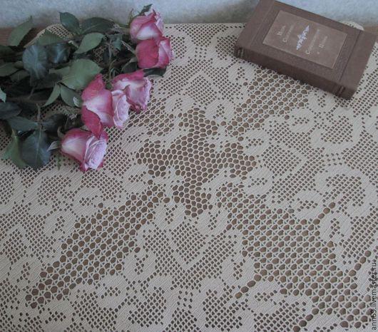 Текстиль, ковры ручной работы. Ярмарка Мастеров - ручная работа. Купить Салфетка № 5. Handmade. Белый, кружево филе