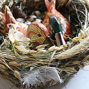 Свадебный салон ручной работы. Ярмарка Мастеров - ручная работа гнездо-подарок на свадьбу. Handmade.