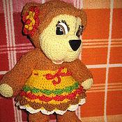 Куклы и игрушки ручной работы. Ярмарка Мастеров - ручная работа Мишутка Сонечка. Handmade.