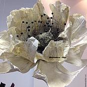 Цветы и флористика ручной работы. Ярмарка Мастеров - ручная работа бумажные цветы, цветы из бумаги, анемон. Handmade.