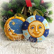 Подарки к праздникам handmade. Livemaster - original item Set of Christmas toys