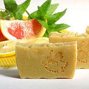 Косметика ручной работы. Ярмарка Мастеров - ручная работа Шампуневое мыло Медовый эль, на пиве с медом, имбирем. Handmade.