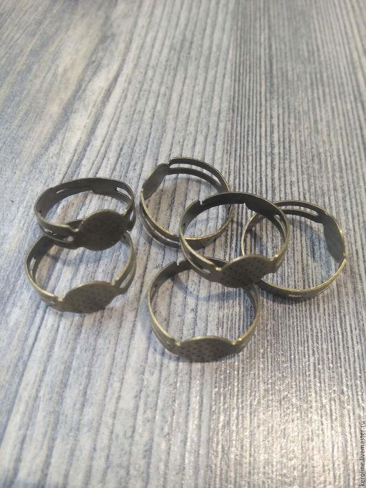 Для украшений ручной работы. Ярмарка Мастеров - ручная работа. Купить кольцо основа 6видов. Handmade. Серебряный, кольцо