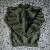 Одежда handmade. Livemaster - original item Knitted sweater made of acrylic (No. №612). Handmade.