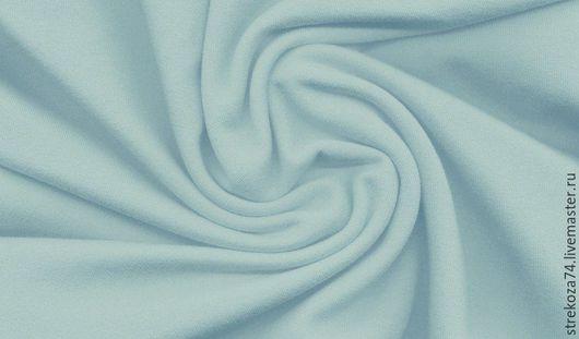 """Шитье ручной работы. Ярмарка Мастеров - ручная работа. Купить Футер  """"Светло-голубой"""" 2-х нитка с начесом. Handmade."""