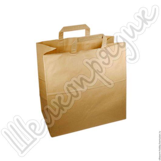 Упаковка ручной работы. Ярмарка Мастеров - ручная работа. Купить Крафт-пакет 32х32х18. Handmade. Крафт-пакет, упаковка, пакет