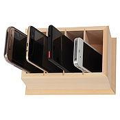 Для дома и интерьера handmade. Livemaster - original item L19138 tray for mobile phones 19 13 8, remote controls.. Handmade.