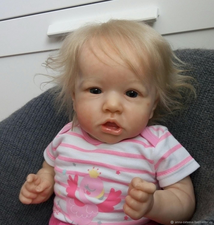 Малышка из молда Саския, Куклы Reborn, Омск,  Фото №1