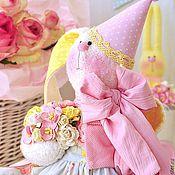 Куклы и игрушки ручной работы. Ярмарка Мастеров - ручная работа Зайка текстильная Сладкий десерт. Handmade.