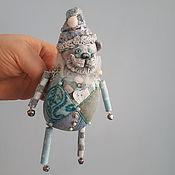 Подарки к праздникам handmade. Livemaster - original item Christmas tree toy Bear. Handmade.
