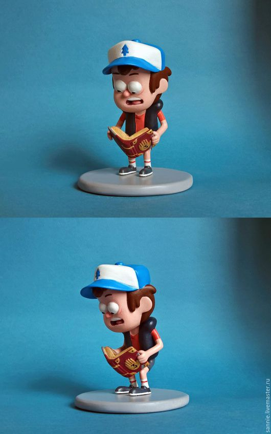 Человечки ручной работы. Ярмарка Мастеров - ручная работа. Купить Диппер Пайнс из Gravity Falls. Handmade. Комбинированный, мультгерой