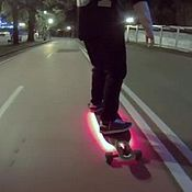 Дизайн и реклама ручной работы. Ярмарка Мастеров - ручная работа Подсветка на лонгборд скейтборд скейт велосипед. Handmade.