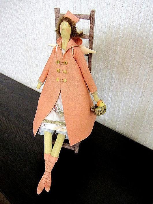 Куклы Тильды ручной работы. Ярмарка Мастеров - ручная работа. Купить Яблочная фея. Handmade. Фея, Осенний ангел