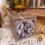 """Для дома и интерьера ручной работы. Ярмарка Мастеров - ручная работа Короб для хранения """"Чеснок"""". Handmade."""