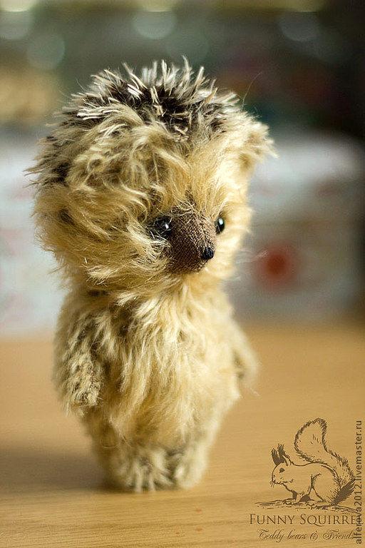Мишки Тедди ручной работы. Ярмарка Мастеров - ручная работа. Купить Ёжик. Handmade. Тедди, друзья мишек тедди, ежик