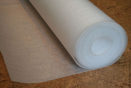 Валяние ручной работы. Ярмарка Мастеров - ручная работа. Купить 0,5 мм идеальная подложка для валяния, 1м. Handmade.