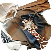 handmade. Livemaster - original item Batik Tunic Savannah. Handmade.
