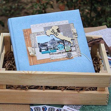 Stationery handmade. Livemaster - original item Travel album (Travel book) Italy. Handmade.