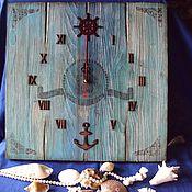 Для дома и интерьера handmade. Livemaster - original item Clocks 40 cm. Handmade.
