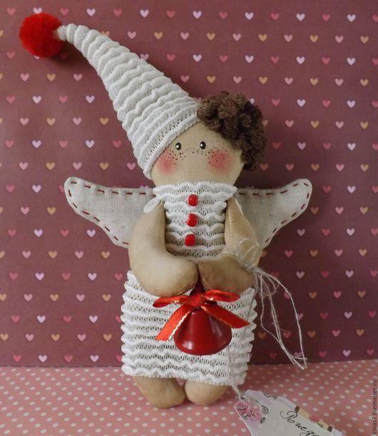 Ароматизированные куклы ручной работы. Ярмарка Мастеров - ручная работа. Купить Рождественский ангелок. Handmade. Подарок на новый год, кукла Примитив