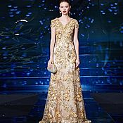 Одежда handmade. Livemaster - original item Golden dress. Handmade.