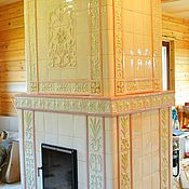 handmade. Livemaster - original item Tiled stove