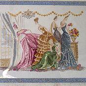 """Картины и панно ручной работы. Ярмарка Мастеров - ручная работа Картина """"Le bal"""". Handmade."""