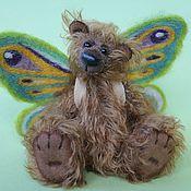 Куклы и игрушки ручной работы. Ярмарка Мастеров - ручная работа Нильс - мини-мишка. Handmade.