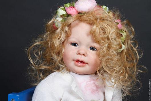 Куклы-младенцы и reborn ручной работы. Ярмарка Мастеров - ручная работа. Купить девочка Весна. Handmade. Комбинированный, кати-мари