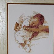 Картины и панно ручной работы. Ярмарка Мастеров - ручная работа Спи, моя радость..... Handmade.