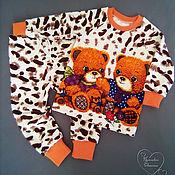 Работы для детей, handmade. Livemaster - original item Sweatshirt pants.. Handmade.