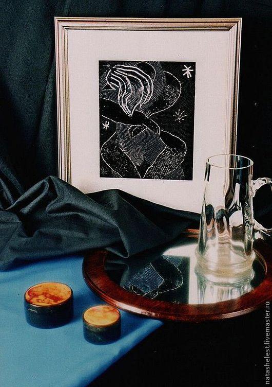 Серия по мотивам работ Анри Матисса - `Ветер. Ночь. Цветы`. Наталья Шестакова - дизайнер,декоратор.