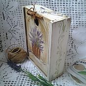 Для дома и интерьера handmade. Livemaster - original item Box for spices Lavender bouquet. Handmade.