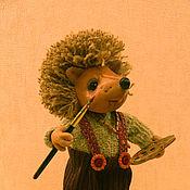 Куклы и игрушки ручной работы. Ярмарка Мастеров - ручная работа Ежик Ежи. Handmade.