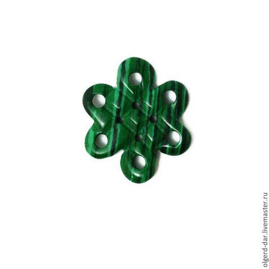 """Обереги, талисманы, амулеты ручной работы. Ярмарка Мастеров - ручная работа. Купить Кельтский талисман-науз """"Бесконечный узел счастья""""из малахита. Handmade."""