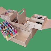 Для дома и интерьера ручной работы. Ярмарка Мастеров - ручная работа Шкатулка 350 х 180 х 320. Handmade.