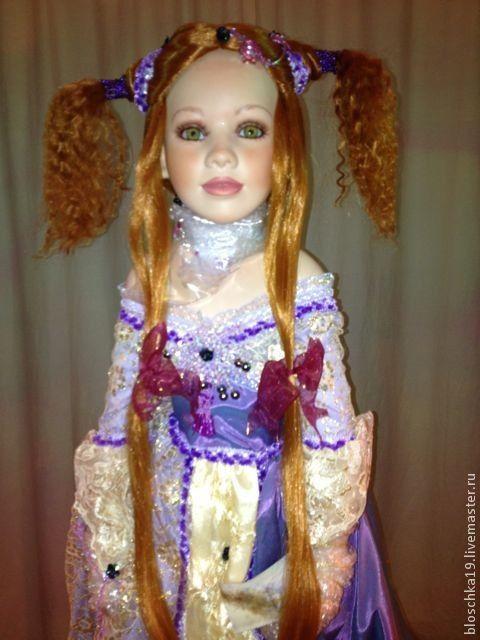 Винтажные куклы и игрушки. Ярмарка Мастеров - ручная работа. Купить Она соткана из золотой пыли, ее имя богатство, удача. Handmade.